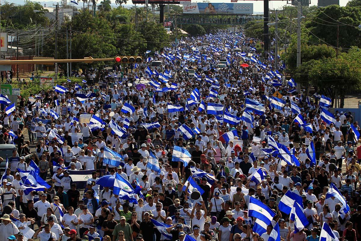 marcha nicaragua 2018